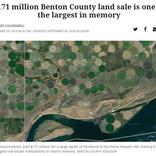 ビル・ゲイツいつの間にか米最大の農場主に。イモ畑デカすぎて宇宙からも見える