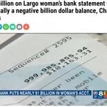 突然振り込まれた1100億円超に困惑した女性 詐欺被害を防ぐ銀行の戦略だった(米)<動画あり>