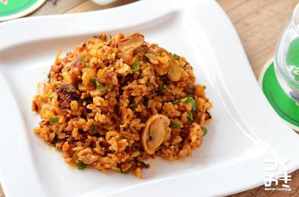 ジャンバラヤ風炒めご飯