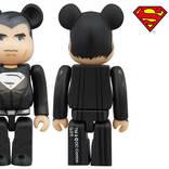 スーパーマン ブラックスーツver.がBD特典ベアブリックに!
