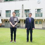 河野大臣が吉本芸人のワクチン職域接種を視察「みなさんの力で若者たちへメッセージを!」