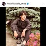 「芸術的な美しさ」横浜流星、Diorを着こなしたアンニュイSHOTに反響「なんてカッコイイの」