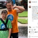 14歳少年、同じダウン症の鉄人にインスパイアされトライアスロンに挑戦(米)<動画あり>