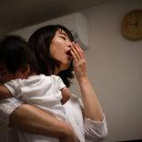 安田美沙子、夜遅くまで泣いて暴れる息子に「完全に白目」