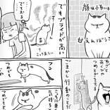 本当は人間に甘えたいお猫様、素直になれない結果…?
