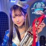 名取くるみ「日本レースクイーン大賞2021新人部門」メダリストに選出