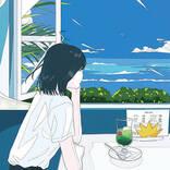吉岡聖恵(いきものがかり)、ソロ楽曲「夏色のおもいで」メッセージ入り暑中見舞いポストカードの絵柄を解禁