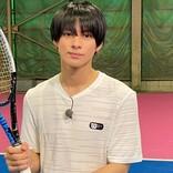 平野紫耀、テニスに初挑戦 バドミントン小学生県優勝経験が生きる!?