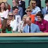 キャサリン妃、ウィンブルドン女子決勝を観戦 勝利したバーティ選手にトロフィー贈呈も