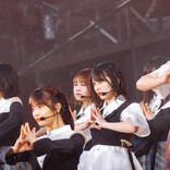 櫻坂46&日向坂46が合同野外ライブ「お互い改名したけど、根っこは同じ」