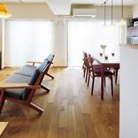 北欧デザインが映える温もりのある住まいにリノベ。木や漆喰の素材感が生きています