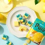 「チロルチョコ」と「ピュレグミ」が初コラボ!レモン味は夏にぴったり~!さわやか~!