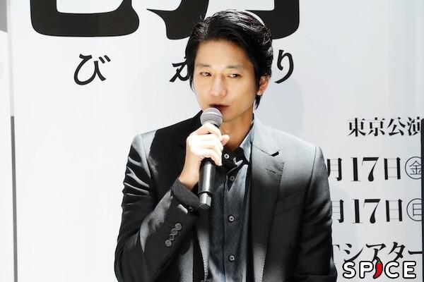 向井理  オフィシャル撮影:田中亜紀