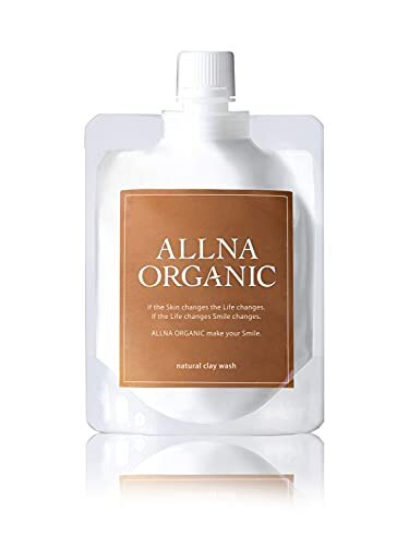 オルナ オーガニック 泥 洗顔 毛穴 開き 黒ずみ 用 泡 ネット 付き コラーゲン 3種類 + ヒアルロン酸 4種類 + ビタミンC 4種類 + セラミド 配合 130g