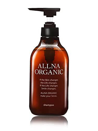 シャンプー 無添加 ノンシリコン 天然由来 オルナ オーガニック 無香料 でボタニカルな香り コラーゲン ヒアルロン酸 ビタミンC誘導体 セラミド 配合 500ml シャンプー ポンプ スムース