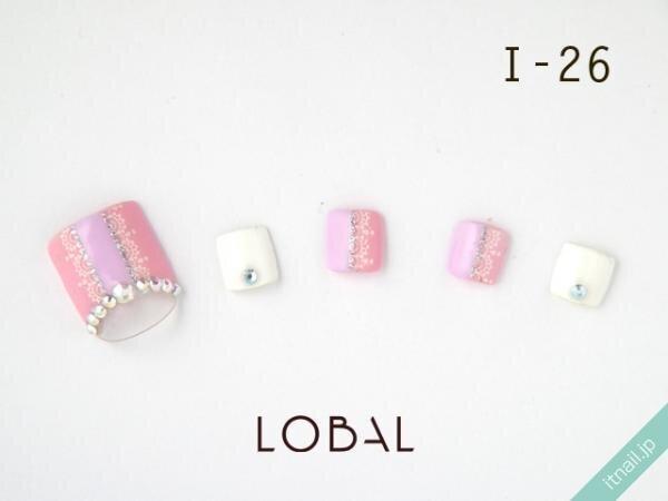 LOBALが投稿したネイルデザイン [photoid:I0001612] via Itnail Design (649137)