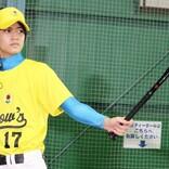 高橋海人、メダリストたちの直接指導でソフトボールに初挑戦