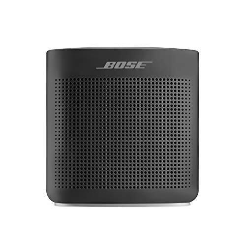 Bose SoundLink Color Bluetooth speaker II ポータブル ワイヤレス スピーカー マイク付 最大8時間 再生 防滴 12.7 cm (W) x 13.1 cm (H) x 5.6 cm (D) 0.54 kg ソフトブラック