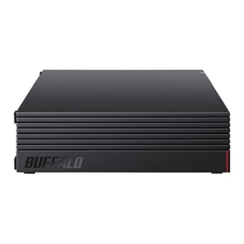 【Amazon.co.jp限定】バッファロー 外付けハードディスク 4TB テレビ録画/PC/PS4/4K対応 バッファロー製nasne™対応 静音&コンパクト 日本製 故障予測 みまもり合図 HD-AD4U3