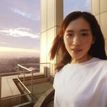 綾瀬はるか、東京の景色をバックに自撮り「とても気持ちよかったです!」
