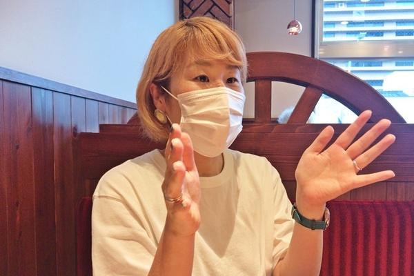 たみお。 [撮影]吉永美和子