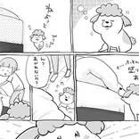 眠気MAXの犬、ベッドに登る手伝いを飼い主にしてもらうと? 『犬と猫どっちも飼ってると』