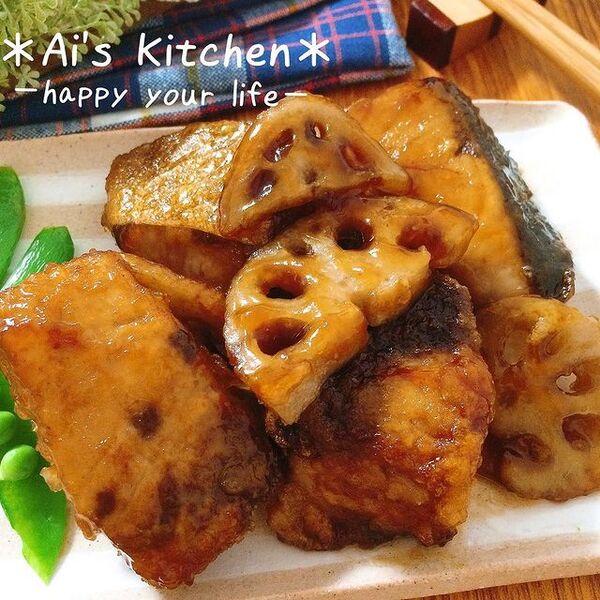 食べごたえ◎ぶりとれんこんの竜田揚げレシピ