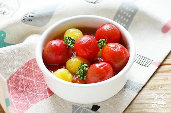腸活におすすめの彩りがきれいな副菜料理
