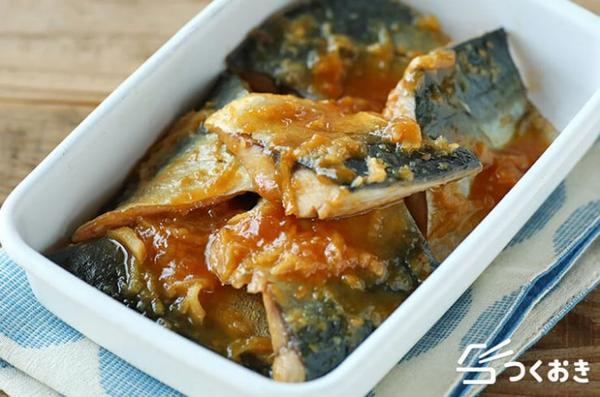 大豆イソフラボンも摂れる腸活青魚料理