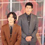 松坂桃李「役所さんからもらったライターをお守りのように」 鈴木亮平「こんなに攻めてばかりの役はこれまでなかった」
