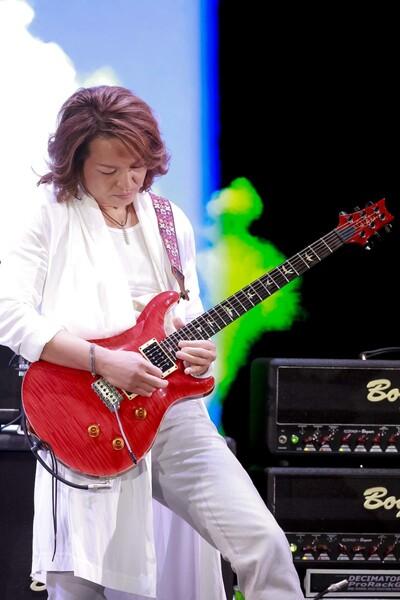 公式テーマ曲 楽曲提供・プロデュース・ギター演奏のDAITA