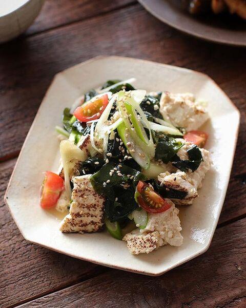 食欲増進!わかめと豆腐のチョレギ和えレシピ