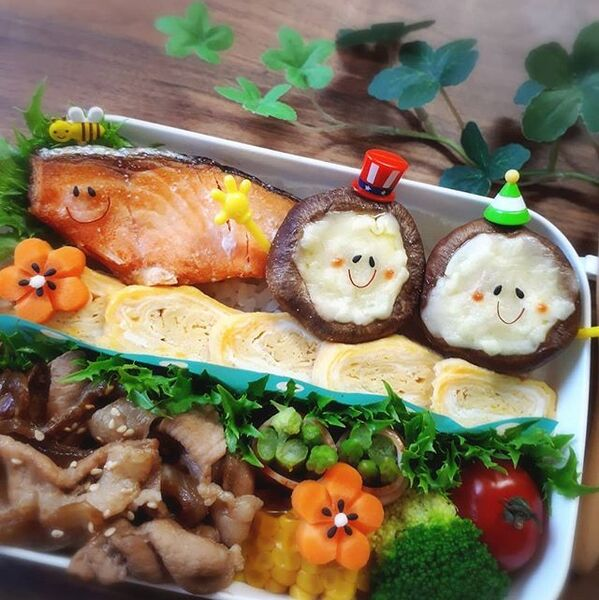 生姜焼き弁当の詰め方レシピ6