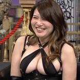 着物の下にセクシー衣装…演歌歌手・大滝秀子に「ドスケベ来た!」