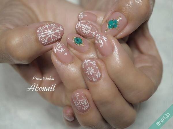 Private salon Ake nailが投稿したネイルデザイン [photoid:I0086467] via Itnail Design (649281)