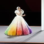 MISIA、東京五輪開会式での『かき氷』のような衣装にツッコミ殺到「かき氷にしか見えない」