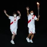 吉田沙保里さん 野村忠宏さんに感謝!「聖火を持って、一緒に走れてとても嬉しかったです」