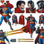 正義か、悪か! サイボーグスーパーマンが可動フィギュアで発売
