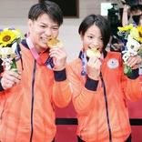 はなわ 阿部兄妹の同日金メダルに号泣「古賀さんもきっと天国で大声で喜んでると思います」