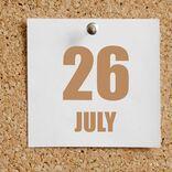 今日は何の日?【7月26日】