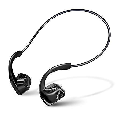 【Bluetooth5.0 耳掛け式 骨伝導イヤホン】 Bluetooth イヤホン 骨伝導 ヘッドホン 耳に塞がず 自動ペアリング 開放型 スポーツ イヤホン 超軽量 ハンズフリー 防水防汗 ワイヤレス イヤホン iPhone&Android適用