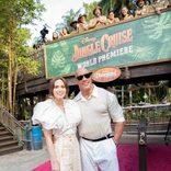 ドウェイン・ジョンソン「本当に夢がかなった気分」 『ジャングル・クルーズ』ワールドプレミアが開催