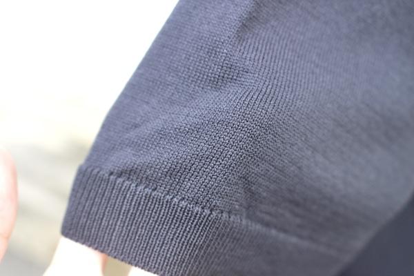 無印良品 「UVカット強撚ポロシャツ」 生地