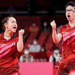 卓球混合ダブルスで水谷・伊藤ペアが金メダル 日本中で祝いの声が続出
