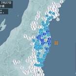 福島県で震度4の地震 津波の心配なし