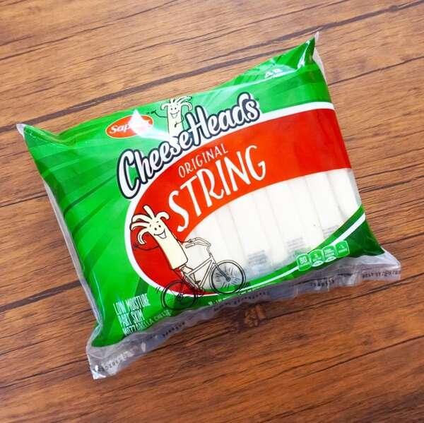 コストコのストリングチーズのパッケージ