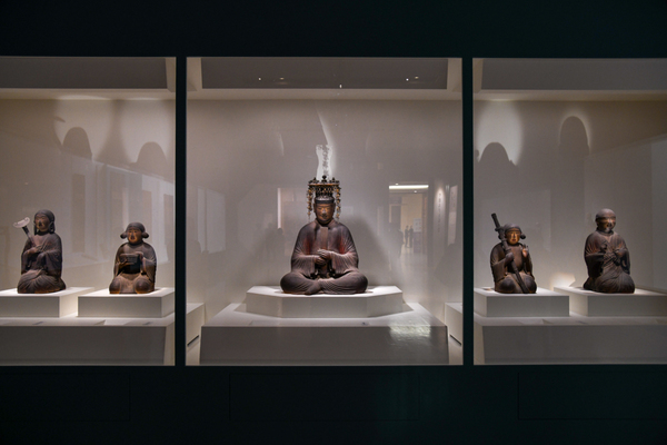 《聖徳太子および侍者像》 平安時代 保安2年(1121) 奈良・法隆寺蔵