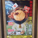 【狂気】総重量1.5キロ! 大阪大将の「無差別超級頂点君臨丼」がもはやエクストリームスポーツ / 終わりが見えないカロリーの山への挑戦