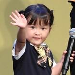 3歳の歌姫・村方乃々佳、可愛すぎるランウェイ! 『トトロ』アカペラも披露