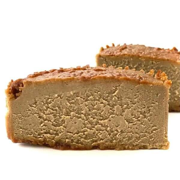ローソンのバスク風ほうじ茶チーズケーキ
